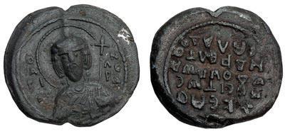 Пломба-пячатка віслая князя Усевалада Яраславіча