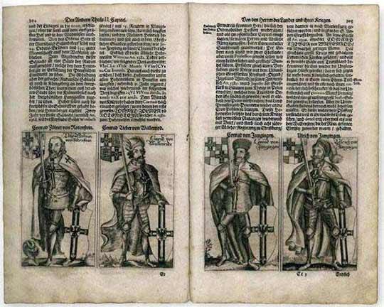 Гравюра 1684 г.
