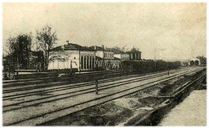 Чыгуначны вакзал у Гародні
